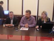 Interim pressconference for implementation of Project Bg04-02-03-001
